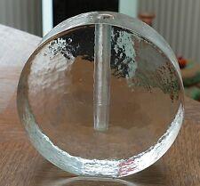 """Schwere Orchideen Vase - Blockvase - Zweigvase """" Rundes Design """" 1,18 kg !!!"""