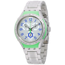 Swatch Men's Xlite YYS4012AG Silver Plastic Swiss Quartz Watch