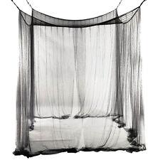 4-Corner Bed Netting Canopy Mosquito Net for Queen CT U2P3