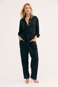 Free People More Like This Black Jumpsuit Size Small