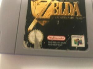 ZELDA Ocarina Of Time for The Nintendo 64 Games Console Free 1st Class Post #601