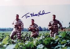 george clooney tim blake nelson signed autograph 8x10 glossy photo COA