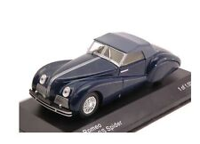 ALFA ROMEO 6C 2500 SS SPIDER 1942 BLUE WHITEBOX WB219 1/43 SOFT TOP BLAU