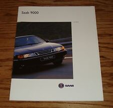 Original 1994 Saab 9000 Series Sales Brochure 94