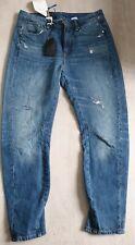 Womens Designer G-star Raw Mid Boyfriend Arc Jeans Bnwt Rrp £15 Size Uk W26 L30