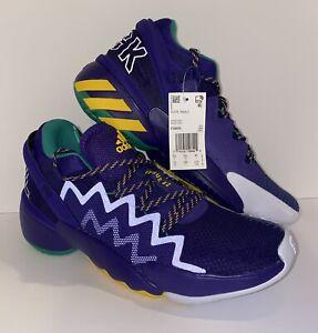 "Adidas D.O.N. Issue 2 Size 10 FV8959 ""Throwback Utah Jazz"""