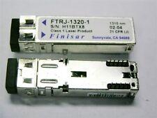 1 Finisar FTRJ-1320-1 Optical OC-48 2X5 SRR Tranciever Small Form Module 2.5Gbit