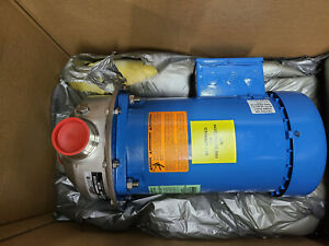 """NEW Goulds 3MS1G7E6 Stainless Pump 2HP 3PH 2"""" NPT IN 1.5 NPT Out"""