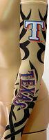 NEW! Texas Rangers Tribal Tattoo Arm Sleeve Sun Block Nylon Baseball Digital
