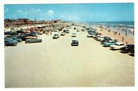 Undated Unused Postcard Driving on the Sands of Famous Daytona Beach Florida FL