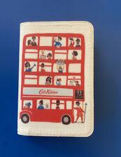 Cath Kidston London Spotty ID Cards Train Ticket Holder ~London Bus-BNWT