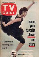 1961 TV Guide February 18 - Nanette Fabray; Jackie Gleason; George Maharis - 66