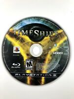 FREE SHIPPING🔥 TimeShift (Sony PlayStation 3, 2007) PS3 Game Sierra - Disc Only