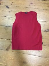 Peter Werth Red Tank Top - Small / 2
