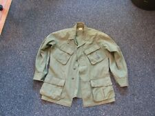 Vietnam Us Army jungle fatigue 1970 contract size small short with ghost insigni