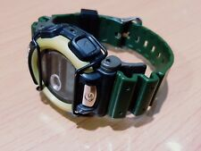 Vintage G-Shock DW-003 Army Green Bumper Guard Protection Military Tough Watch
