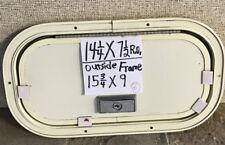 14 1/4 X 7 1/2  RV Motorhome Trailer Cart Baggage Compartment Access Door