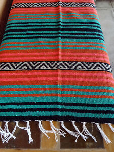 Peyote Serape Blanket ONWPT-15 Southwest Southwestern Mexican Afghan
