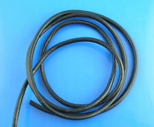 10M HQ Black Round Real Leather Jewelry Cord 3mm