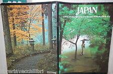 VECCHIO QUADERNO SCOLASTICO JAPAN PICTURE BOOK REMEMBER ASIA GEOGRAFIA SCUOLA