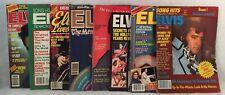Set of 8 Assorted ELVIS Magazines