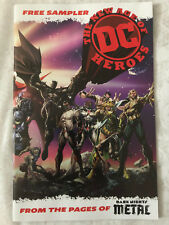 NYCC 2018 Comic Con The New Age of DC Heroes Dark Nights Metal