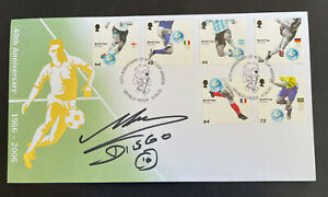 Scarce 2006 World Cup Anniversary Official FDC signed by Diego Maradona