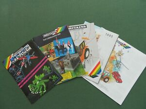 Four Britains Toy catalogues