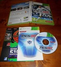 PES 2012 PRO EVOLUTION SOCCER 2012 XBOX 360 COMPLETE + IN NEAR MINT CONDITION