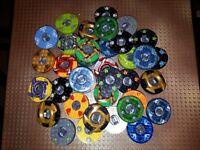 5 Unterschiedliche Lego Ninjago Spinner Minifig Spiel Kreisel Kai Cole Jay Lloyd