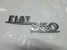 FIAT 850 COUPE VIGNALE MORETTI SCRITTA STEMMA SIGLA BADGE EMBLEM SCRIPT FREGIO