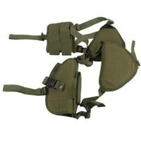 Adjustable Tactical waterproof Pistol Shoulder Gun Holster with Magazine Pouch