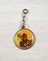 Vintage Saint Stanislaus B.M. Medal Pendant Religious Saint Medal