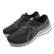 Asics Gel-Kayano 28 2E Ancho Negro Blanco Zapatos deportivos de correr para hombres 1011B188-003