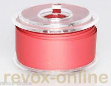 Vorlaufband, Kennband rot, ca. 5,0m für 6,3mm (1/4 zoll) leader tape red