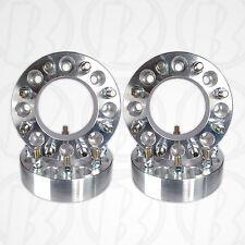 "4pc USA MADE 8 Lug 6.5"" To 8 x 6.5"" Wheel Adapter 2"" Spacer 9/16 Stud & Lug Nuts"