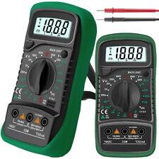 Tester Multimetro Digitale Puntali Volt Ampere Dt-830b