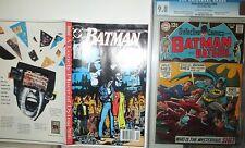 Batman 441 COMPLETE PROOF DC DUMMY COMIC Unique Uncut 1989 Robin Two-Face Art