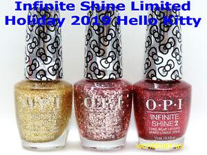 OPI Infinite Shine Nail Polish HELLO KITTY 2019 Limited Collection /Choose Any