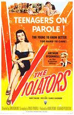 The Violators - 1957 - Movie Poster