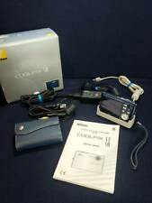 Nikon Coolpix S8 7.1MP Digital Camera from Japan w/ Battery, Stand, Memory, Case