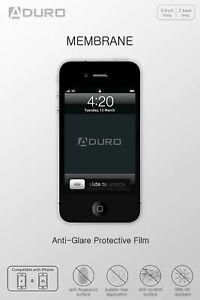 Aduro Membrane Anti-Glare Matte Screen Protector for iPhone 4 / 4S, AT&T, Sprint
