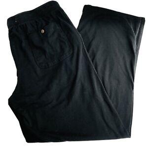 TOMMY BAHAMA Sz L MARLIN SWORDFISH BLACK PJ LOUNGE PANTS SLEEPWEAR
