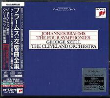 GEORGE SZELL-BRAHMS: COMPLETE SYMPHONIES-JAPAN 4 SACD HYBRID Ltd/Ed V05