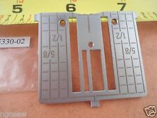 NEEDLE PLATE STRAIGHT STITCH #4125330-02 VIKING Platinum Srs.Designer I,II,Quilt