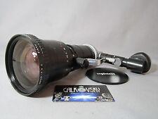 ANGENIEUX ZOOM 9.5-95MM LENS REFLEX VIEWER! C-MOUNT! BOLEX H16 16MM MOVIE CAMERA