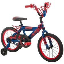 Boys' Marvel - Ultimate Spider-Man Bike Red 16 Inch Huffy Cycling 51967 New