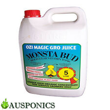 5 LITRE OZI MAGIC MONSTA BUD Organic Nutrients For Hydroponics Plant Or Garden