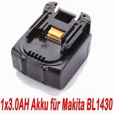14.4V 3.0AH Akku für Makita BL1430 BL1415 194066-1 194065-3 BDF343 NEU