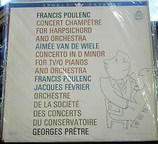 Poulenc/Fevrier/Pretre   Concerto; Concert Champetre      Angel